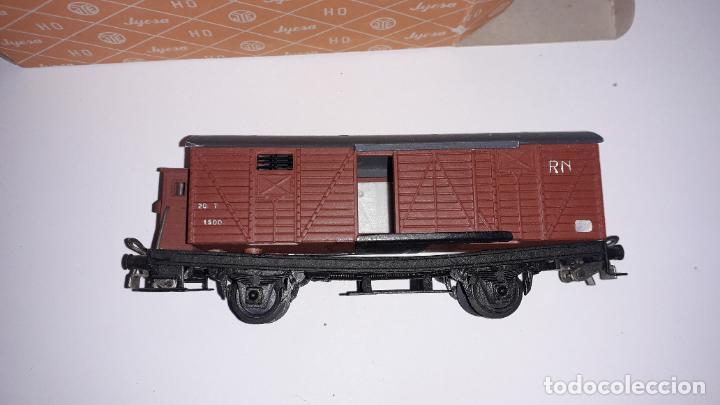 Trenes Escala: JYESA VAGON HO MERCANCIAS JYESA, TREN DE JUGUETE, TREN ANTIGUO - Foto 4 - 198945516