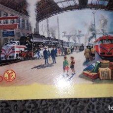 Trenes Escala: JYESA, TREN ELECTRICO JYESA REF. 1911, TREN ANTIGUO, TREN DE JUGUETE. Lote 199072107