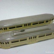 Trenes Escala: RARO PAR TREN TROLEBUS VIKING ESCALA 1 87 PARA MAQUETAS HO PRECIO: 98,00 €. Lote 199121787