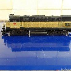 Trenes Escala: LOCOMOTORA AMERICANA FABRICADA EN AUSTRIA. Lote 199185790