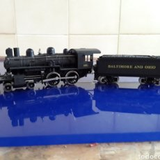 Trenes Escala: LOCOMOTORA CON CARBONERA MEHANO 822 (BALTIMORE AND OHIO). Lote 199190253