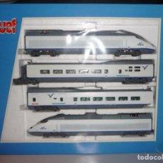 Trenes Escala: AVE S-100 ESTADO DE ORIGEN DIGITALIZADO DE JOUEF (MUY DIFÍCIL DE CONSEGUIR). Lote 199248176