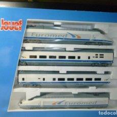 Trenes Escala: EUROMED S-101 ESTADO DE ORIGEN DIGITALIZADO DE JOUEF (MUY DIFÍCIL DE CONSEGUIR). Lote 199248521