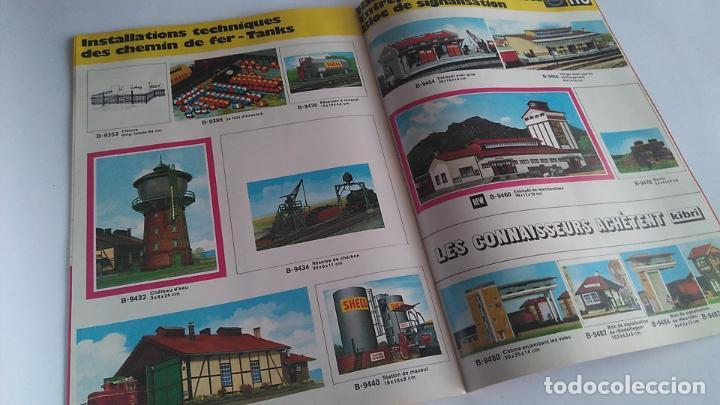 Trenes Escala: KIBRI CATÁLOGO N H0 AÑO 1972-73, 52 PÁGINAS DIN A4 APROX - Foto 4 - 199809460