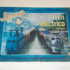 Trenes Escala: TREN ELECTRICO A PILAS JYESA. FUCIONANDO.. Lote 199842325