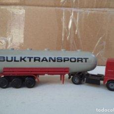 Trenes Escala: CAMION TRAILER BULKTRANSPORT VALIDO ESCALA HO . Lote 200315491