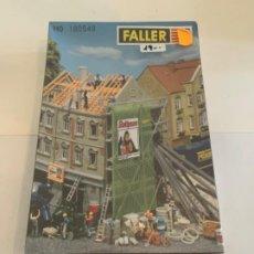 Trenes Escala: FALLER. HO. REF 180549 . CONSTRUCCION. Lote 200606400