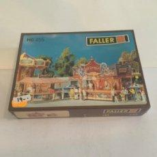 Trenes Escala: FALLER. HO. REF 455 . CONSTRUCCION. Lote 200606702