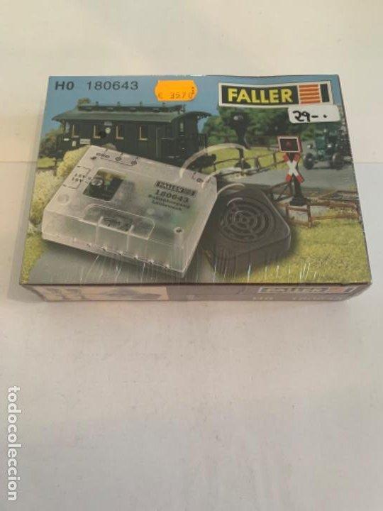 FALLER. HO. REF 180643 SONIDO PASO NIVEL (Juguetes - Trenes Escala H0 - Otros Trenes Escala H0)