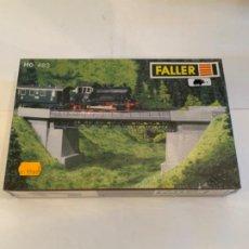 Trenes Escala: FALLER. HO. REF. 483. PUENTE. Lote 200777983