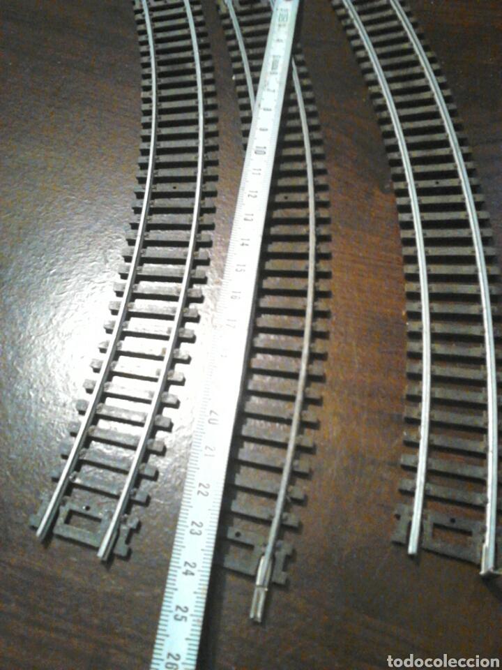 Trenes Escala: Lote de 3 vias curvas,de tren,pone sc1-87 HO - Foto 3 - 201147437