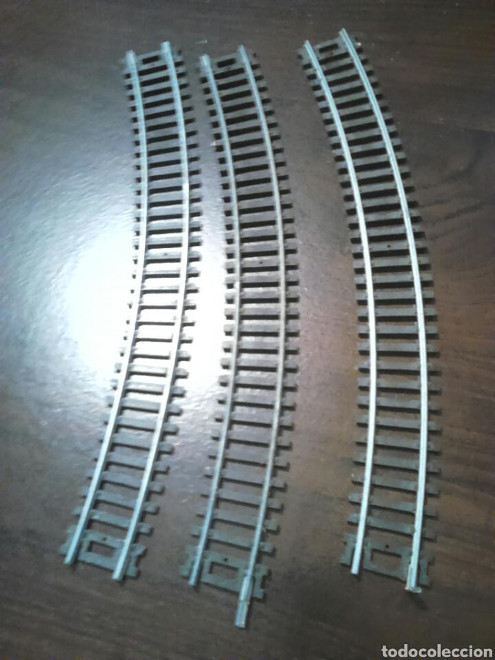 LOTE DE 3 VIAS CURVAS,DE TREN,PONE SC1-87 HO (Juguetes - Trenes Escala H0 - Otros Trenes Escala H0)