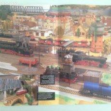 Trenes Escala: POSTER TREN, DEPOSITO DE VAPOR 43X30. Lote 201303018