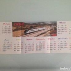 Trenes Escala: POSTER TREN 59X21, IC-200 EN FREGINALS, CALENDARIO HOBBYTREN 1999. Lote 201304906
