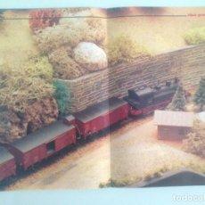 Trenes Escala: POSTER TREN, 42X30, MAQUETA VAPOR, MAQUETREN . Lote 201305158
