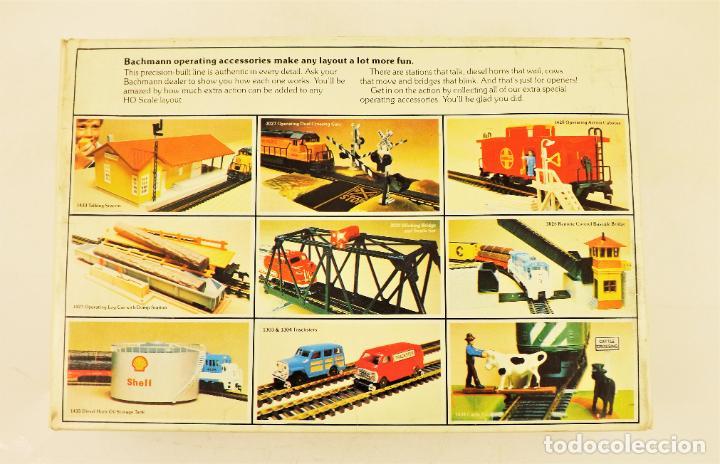 Trenes Escala: Bachmann 1436 Conjunto Almacén con sonido vapor - Foto 3 - 213054172