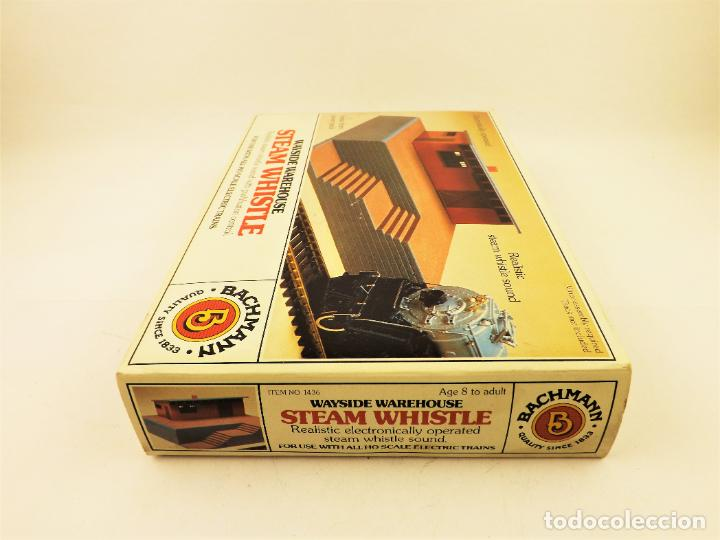 Trenes Escala: Bachmann 1436 Conjunto Almacén con sonido vapor - Foto 4 - 213054172