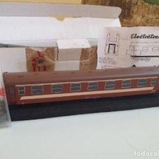 Trains Échelle: VAGON COCHE RENFE 6516 CLUB ELECTROTREN HO REF 5045K. Lote 202933301