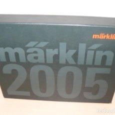 Trenes Escala: MARKLIN PRESENTATION BOOK FOR 2005 ESCALAS H0 1 Z LIBROS COMPLETOS TRENES TRAIN CATHALOG LOCOMOTIVE. Lote 203001990