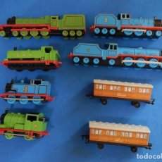Trenes Escala: ESPECIE DE TREN INFANTIL. ERTL. DYERSVILLE IOWA USA. THOMAS THE TANK ENGINE & FRIENDS. AÑOS 80/90.. Lote 23754302