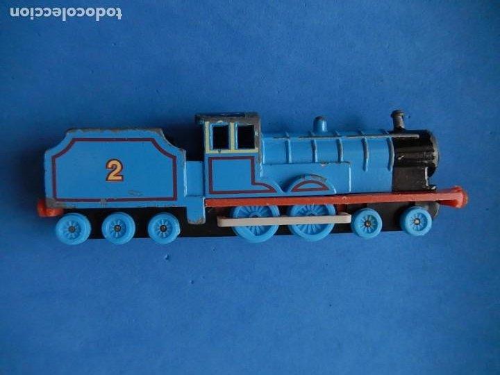 Trenes Escala: Especie de tren infantil. ERTL. DYERSVILLE IOWA USA. Thomas the Tank Engine & Friends. Años 80/90. - Foto 2 - 23754302