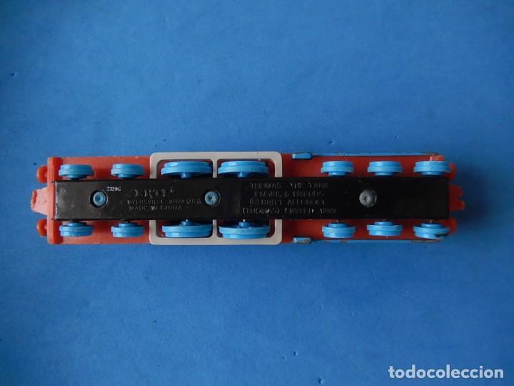 Trenes Escala: Especie de tren infantil. ERTL. DYERSVILLE IOWA USA. Thomas the Tank Engine & Friends. Años 80/90. - Foto 5 - 23754302