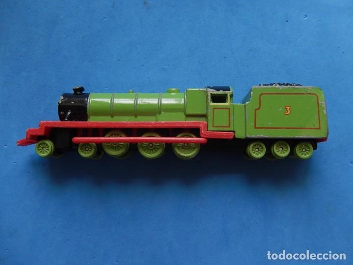 Trenes Escala: Especie de tren infantil. ERTL. DYERSVILLE IOWA USA. Thomas the Tank Engine & Friends. Años 80/90. - Foto 8 - 23754302