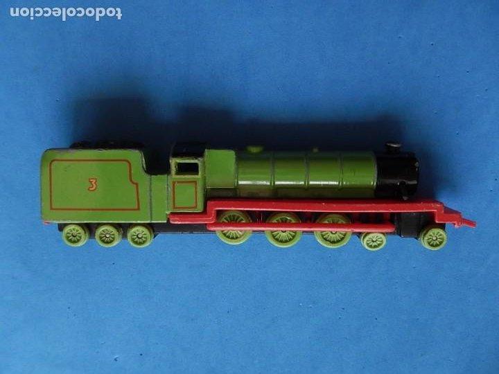 Trenes Escala: Especie de tren infantil. ERTL. DYERSVILLE IOWA USA. Thomas the Tank Engine & Friends. Años 80/90. - Foto 10 - 23754302
