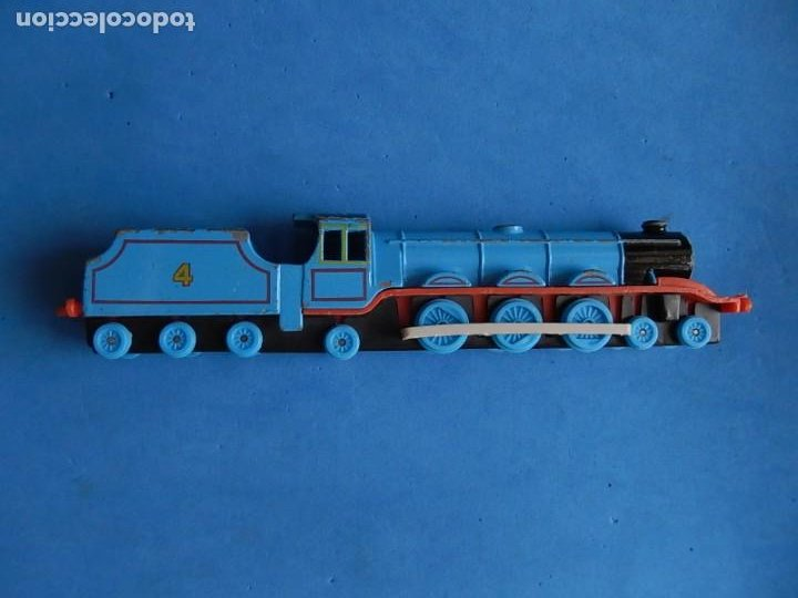Trenes Escala: Especie de tren infantil. ERTL. DYERSVILLE IOWA USA. Thomas the Tank Engine & Friends. Años 80/90. - Foto 14 - 23754302