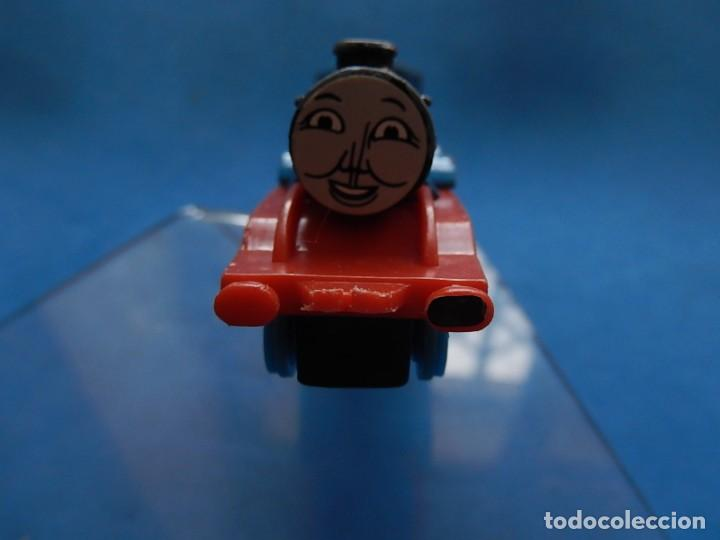 Trenes Escala: Especie de tren infantil. ERTL. DYERSVILLE IOWA USA. Thomas the Tank Engine & Friends. Años 80/90. - Foto 18 - 23754302