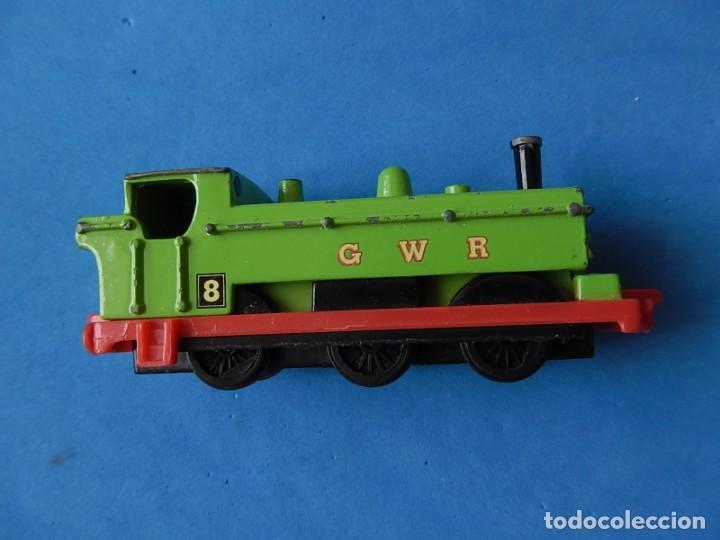 Trenes Escala: Especie de tren infantil. ERTL. DYERSVILLE IOWA USA. Thomas the Tank Engine & Friends. Años 80/90. - Foto 22 - 23754302