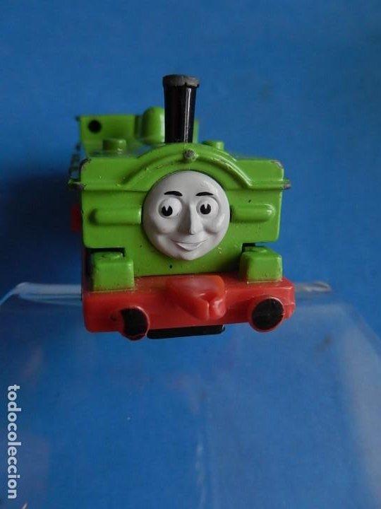 Trenes Escala: Especie de tren infantil. ERTL. DYERSVILLE IOWA USA. Thomas the Tank Engine & Friends. Años 80/90. - Foto 24 - 23754302