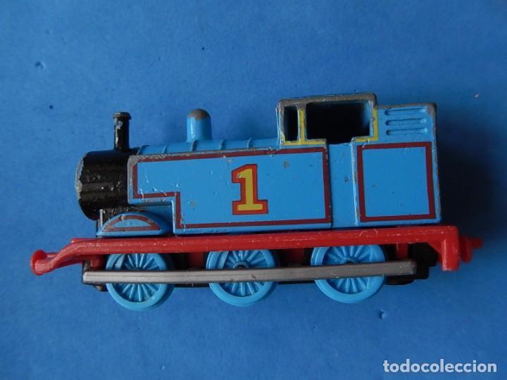 Trenes Escala: Especie de tren infantil. ERTL. DYERSVILLE IOWA USA. Thomas the Tank Engine & Friends. Años 80/90. - Foto 26 - 23754302