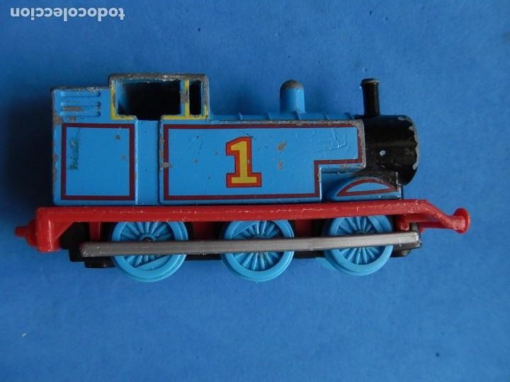 Trenes Escala: Especie de tren infantil. ERTL. DYERSVILLE IOWA USA. Thomas the Tank Engine & Friends. Años 80/90. - Foto 28 - 23754302
