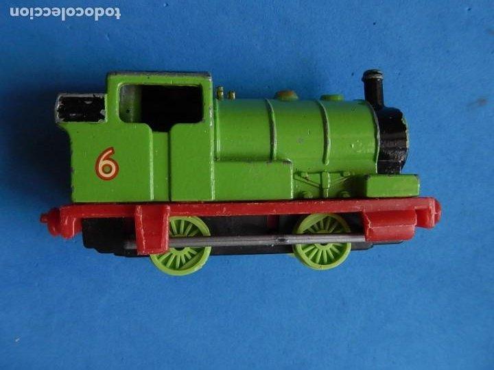 Trenes Escala: Especie de tren infantil. ERTL. DYERSVILLE IOWA USA. Thomas the Tank Engine & Friends. Años 80/90. - Foto 32 - 23754302