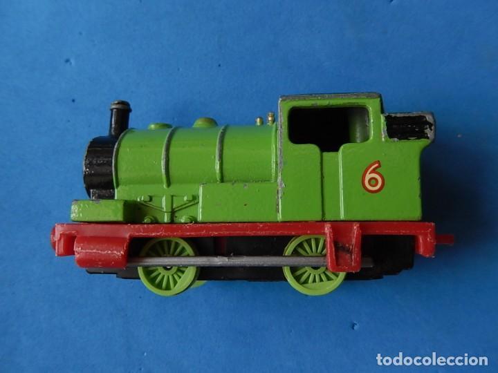 Trenes Escala: Especie de tren infantil. ERTL. DYERSVILLE IOWA USA. Thomas the Tank Engine & Friends. Años 80/90. - Foto 34 - 23754302