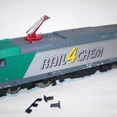 Trenes Escala: PIKO. LOCOMOTORA H0 1/87. DIGITAL. FALTAN PIEZAS.. Lote 203869248