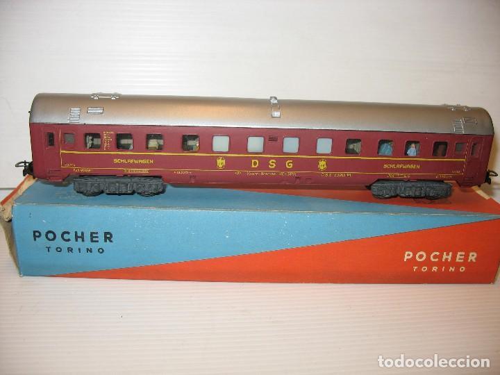 VIAJEROS POCHER MUY RARO (Juguetes - Trenes Escala H0 - Otros Trenes Escala H0)