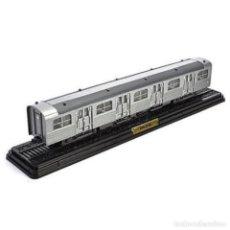 Trenes Escala: ZBD-5101 VAGON INTERMEDIO 1953 1/87 HO FERROCARRIL LOCOMOTORA VAGONES ATLAS #08. Lote 222717826