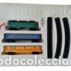 Trenes Escala: ANTIGUO TREN JYESA RENFE JS9779 COMPLETO (FUNCIONA). Lote 204517762