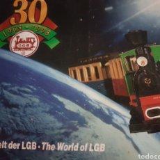 Trenes Escala: CATÁLOGO LGB AÑO 1998. Lote 204614192