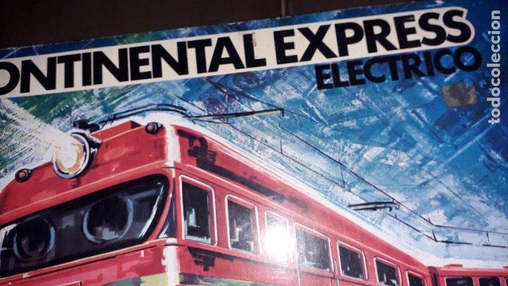 Trenes Escala: TREN CONTINENTAL ESPRESS DE RIMA, TREN ANTIGUO, JUGUETE ANTIGUO, TREN DE JUGUETE - Foto 2 - 204635250
