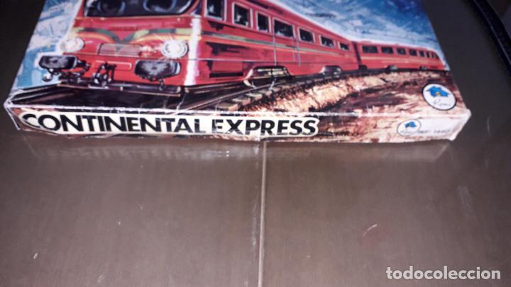 Trenes Escala: TREN CONTINENTAL ESPRESS DE RIMA, TREN ANTIGUO, JUGUETE ANTIGUO, TREN DE JUGUETE - Foto 4 - 204635250