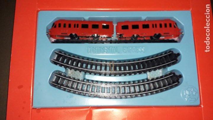 Trenes Escala: TREN CONTINENTAL ESPRESS DE RIMA, TREN ANTIGUO, JUGUETE ANTIGUO, TREN DE JUGUETE - Foto 7 - 204635250