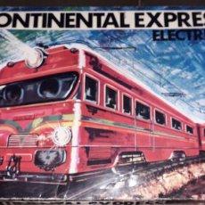 Trenes Escala: TREN CONTINENTAL ESPRESS DE RIMA, TREN ANTIGUO, JUGUETE ANTIGUO, TREN DE JUGUETE. Lote 204635250