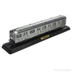 Trenes Escala: ZBD-5101 VAGON EXTREMO 1953 1/87 HO FERROCARRIL LOCOMOTORA VAGONES ATLAS #09. Lote 222717836
