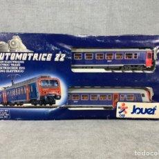Trenes Escala: JOUEF AUTOMOTRICE 22 - H0 - COFFRET Z 2 - 1987. Lote 205072238