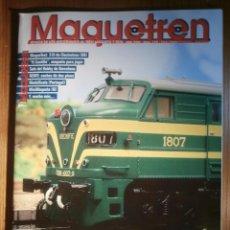 Trenes Escala: REVISTA - MAQUETREN - AFICIONADOS TREN, TRENES ELÉCTRICOS A ESCALA Y MAQUETAS,, FERROVIARIOS Nº 179. Lote 205072866