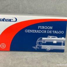 Trenes Escala: FURGÓN GENERADOR TALGO N• 11006 - MABAR REF: 81113 - LOGOTIPO LARGO - H0 -. Lote 205129970