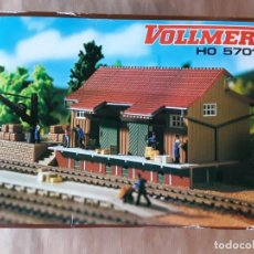 Trenes Escala: WOLLMER HO 5701 ALMACÉN DE CARGA. Lote 205158053
